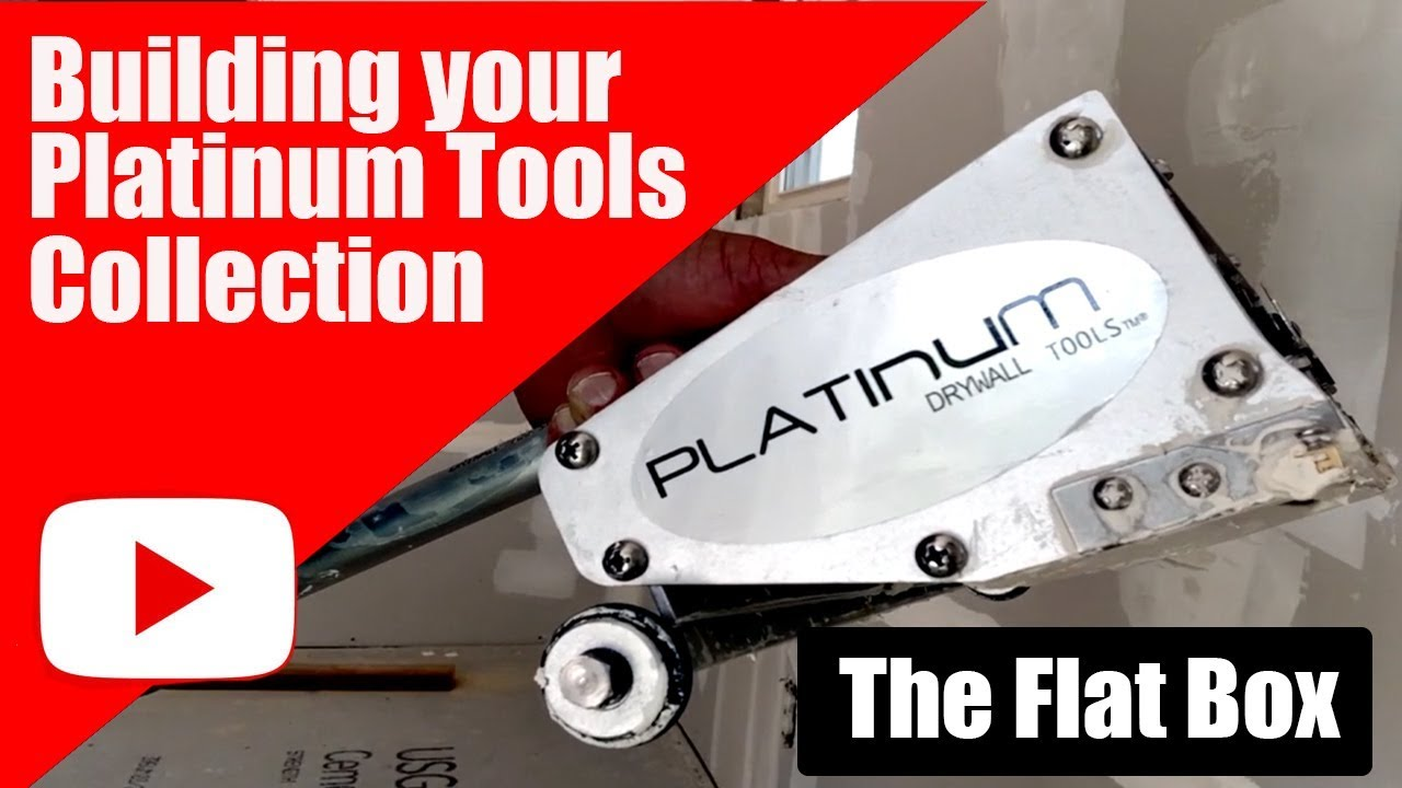 Platinum Drywall Tools Flat Boxes