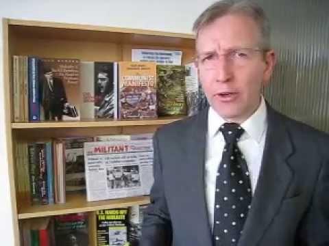 Paul Davies, candidate for parliament, Communist League, Manchester Central, clmanchr@gmail.com