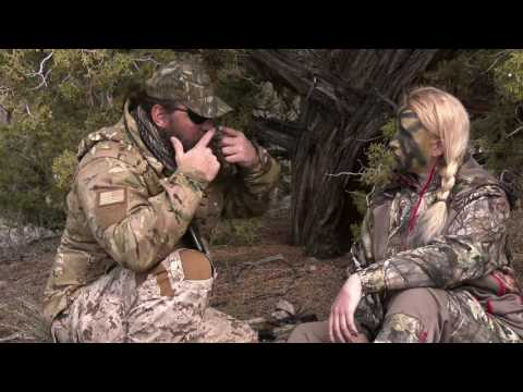 Navy SEAL Shows How To Camouflage, Women And Hunting