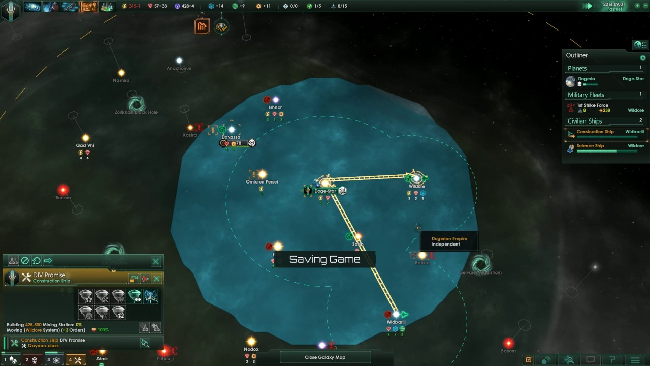Fallen Empire events – Stellaris HD Gameplay