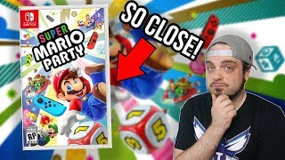 Super Mario Party - ALMOST The Mario Party We Wanted | RGT 85