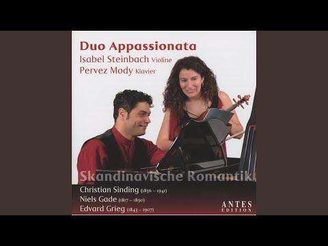 Sonate für Violine und Klavier in D Minor, Op. 21: III. Adagio - Allegro moderato