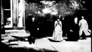 Roundhay Garden Scene (1888) - Joseph & Sarah Whitley | Louis Aimé Augustin Le Prince