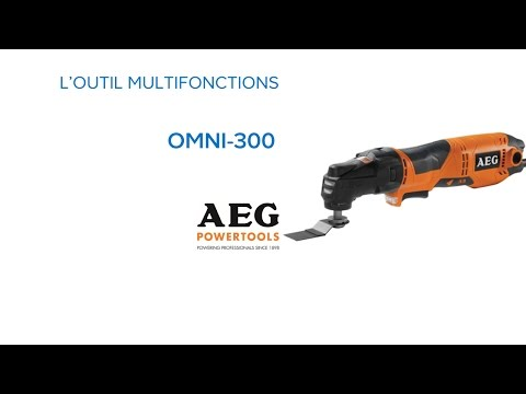 Outil multifonctions OMNI-300 AEG (624607) Castorama