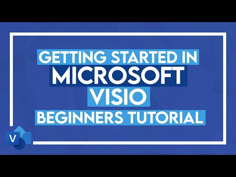 Microsoft Visio Tutorial for Beginners - How to use Visio 2016