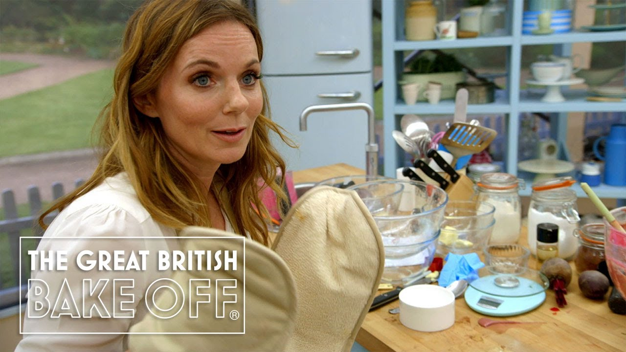 Geri Horner gives Mary and Paul what they really, really want   The Great Sport Relief Bake Off