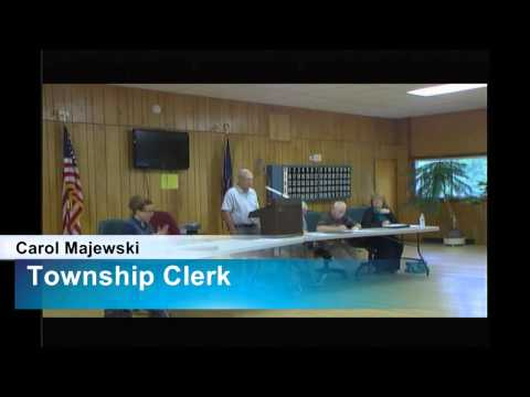Lincoln Township Meeting 8/11/2014