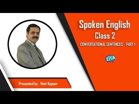Spoken English Class 2|Daily Use Sentences for English Speaking|English Speaking Practice