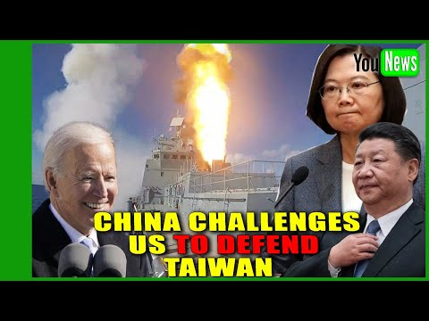 Xi Jinping risks WW3 conflict as China challenges US to defend Taiwan amid growing tension