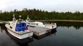 Стоянка для катеров длиной свыше 9 метров / Mooring for boats longer than 9 meters