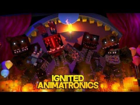 Minecraft Fnaf: Ignited Animatronics Attack (Minecraft Roleplay) thumbnail