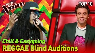 Download lagu TOP 10 | The very best REGGAE Blind Auditions in The Voice