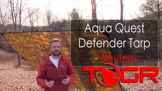 Perfect Bushcraft Tarp? - Aqua Quest Defender Tarp - Review
