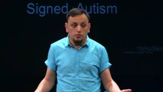 Dear Society… Signed, Autism | Daniel Share-Strom | TEDxYorkUSalon
