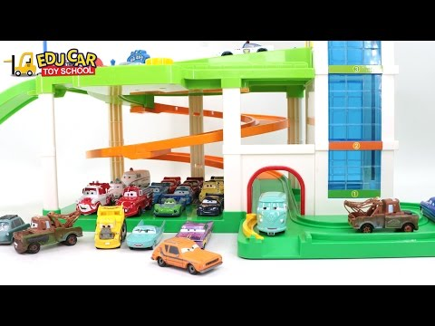 Thumbnail: Learning Color Number With Disney PIXAR Cars Lightning McQueen Mack Truck for kids car toys