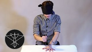 The BLINDFOLDED Knife Game Song