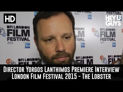 Director Yorgos Lanthimos Interview - The Lobster Premiere