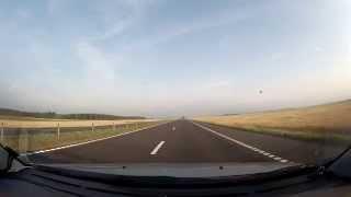 Гомель - Бобруйск - Минск (трасса М-5) 290км за 6 минут (2015)