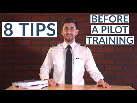 8 TIPS BEFORE PILOT TRAINING