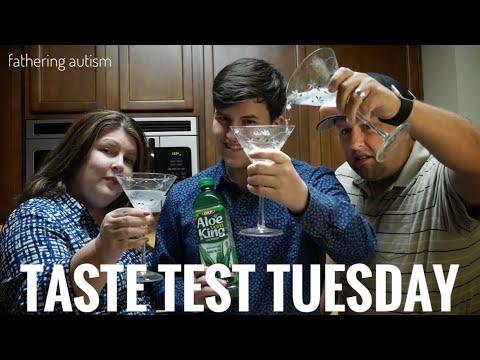 Taste Test Tuesday - Aloe Vera Juice