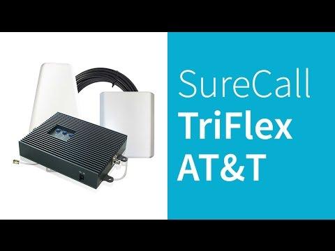 SureCall TriFlex-A AT&T 4G LTE Cell Phone Signal Booster