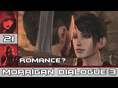 Dragon Age: Origins - Morrigan Kiss Scene & Possible Romance Pt.3 #21