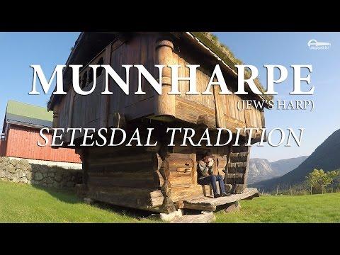 Munnharpe (jew's harp). Setesdal tradition