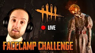 Dead by Daylight / Monstrum - LIVE - Get Facecamped Challenge