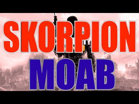 MW3 | MOAB with Every Gun - Skorpion MOAB