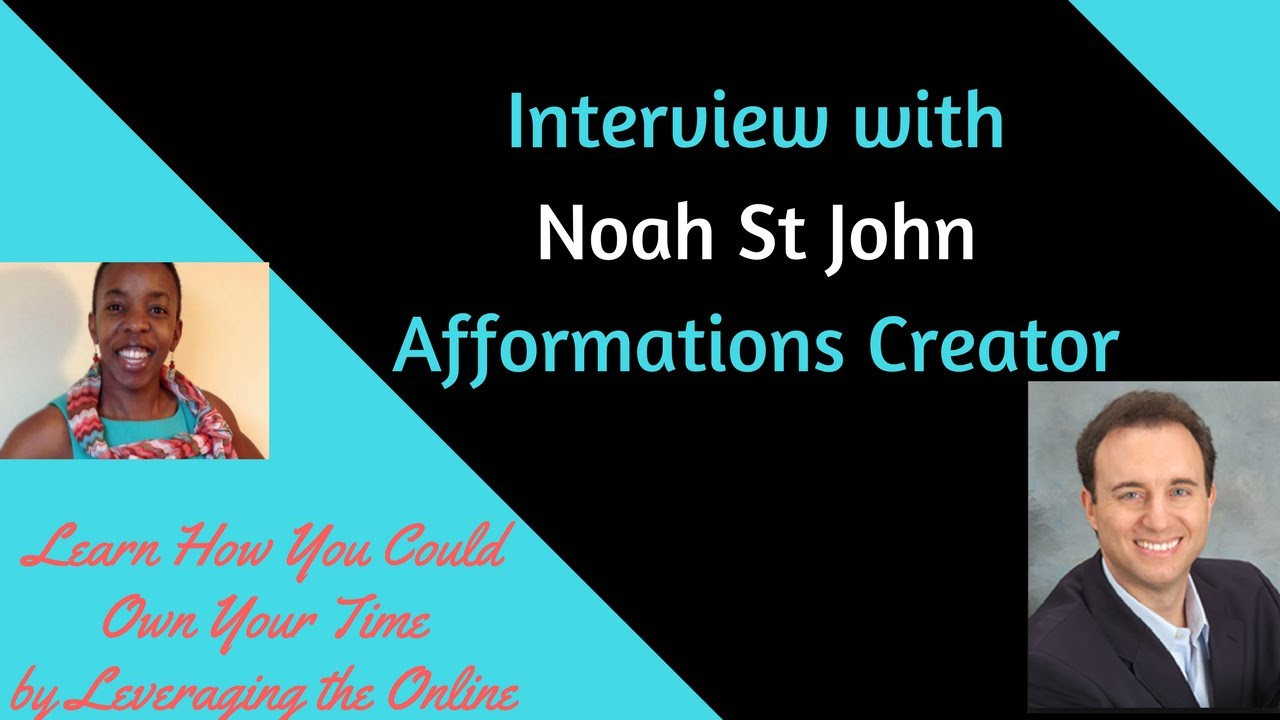 Noah st john afformations