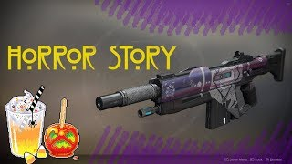 Destiny 2- Horror Story! Spooky New Auto Rifle!