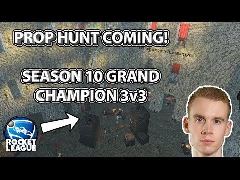 PROP HUNT IN ROCKET LEAGUE COMING   Getting Grand Champion Back in 3v3! thumbnail