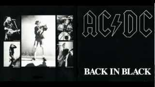 acdc back in black hq audio