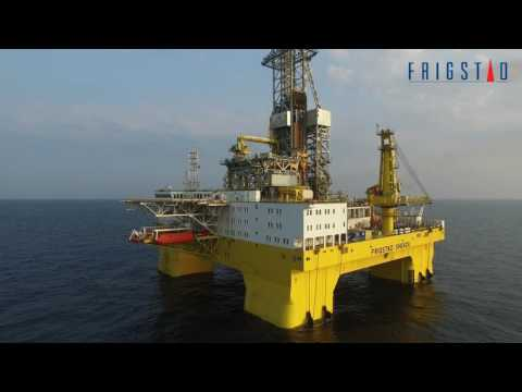 Frigstad Shekou 7th Generation Ultra Deepwater Semi On Sea Trials
