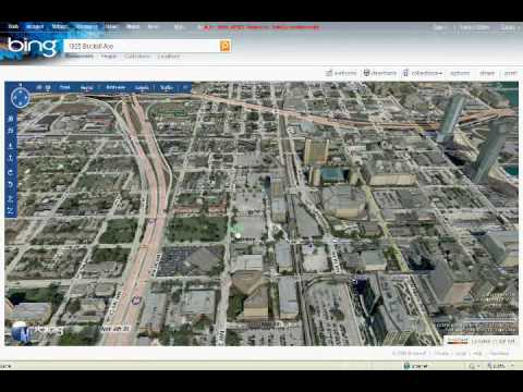 bing maps 3d demonstration