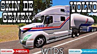 Skin De CEMEX// Volvo VNL 760// World Truck Dirving Simulator// «EL SABIO»