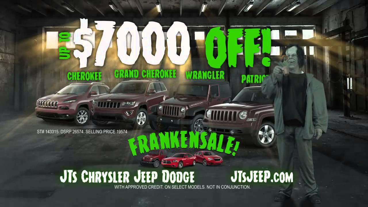 jts chrysler dodge jeep ram frankensale youtube
