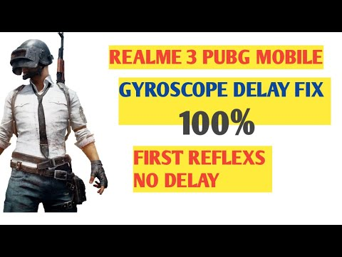 Realme3 PUBG Gyroscope Fix 100%   Realme 3 gyroscope delay fix 100%