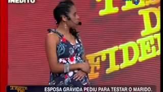 Teste de Fidelidade - Homem Fiel Não Cai - Rede TV 2013