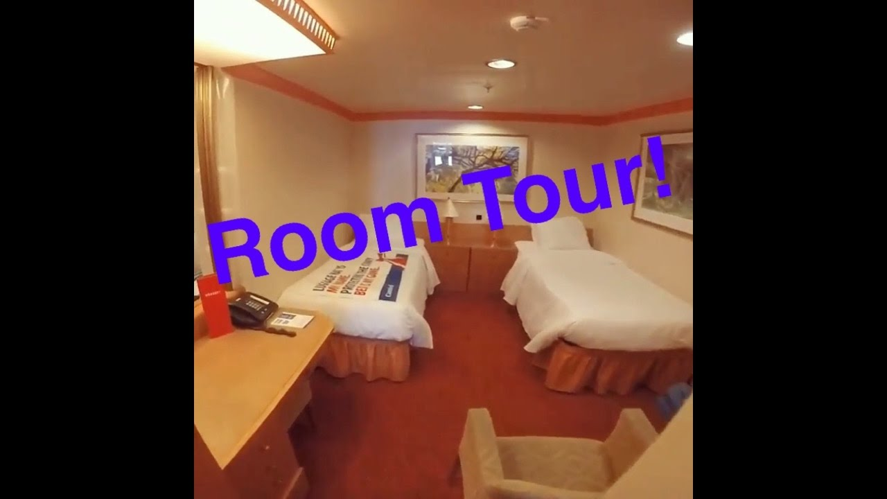 Carnival Miracle Cruise Ship Interior Room Tour Vlog Episode 5