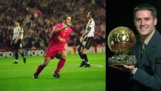 How did Michael Owen manage to win the Ballon d