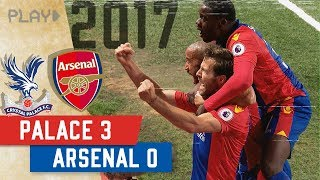Crystal Palace v Arsenal | 3-0 Selhurst Win