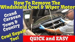Wiper Motor Replacement & Cowling Town & Country Grand Caravan