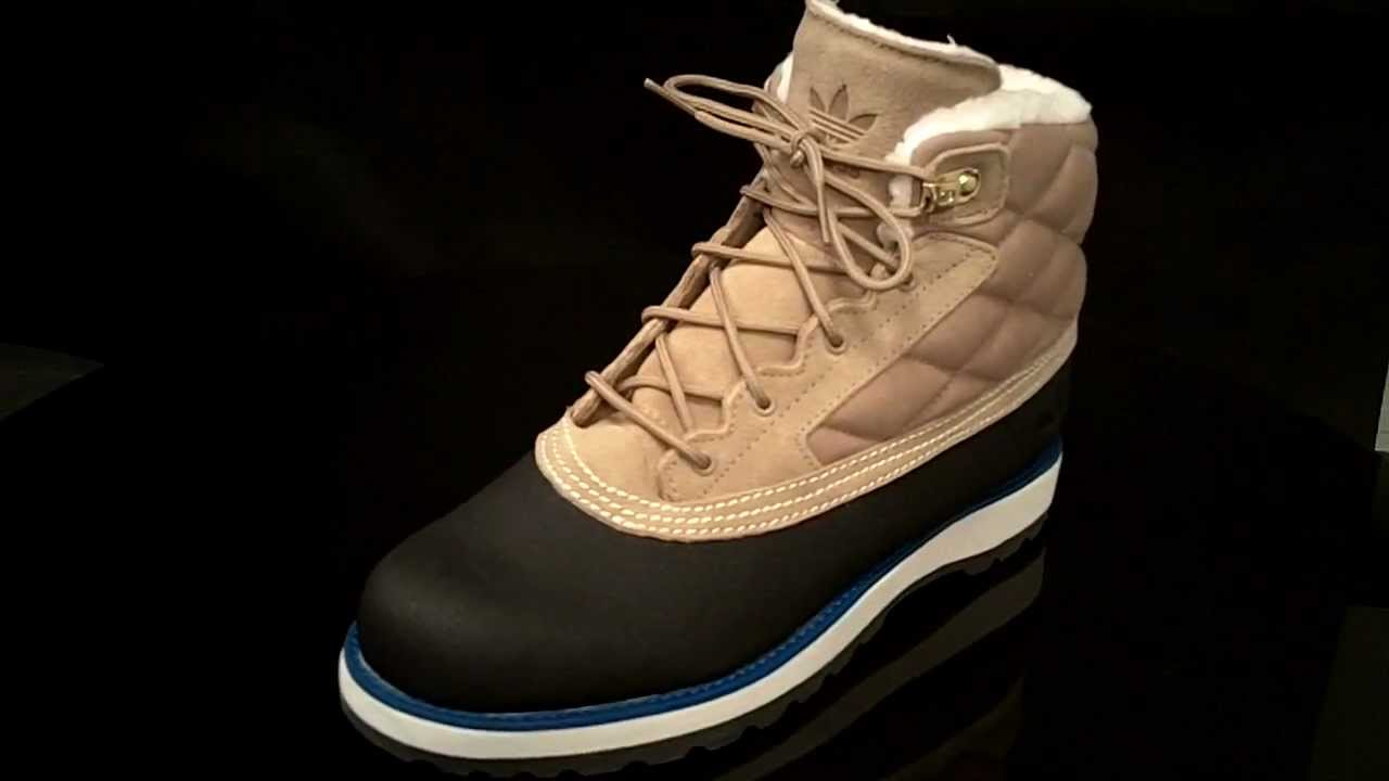 ba51e4a7a556 Adidas Adi Navvy Quilt Cracan Black1 Light Bone G60557 - YouTube