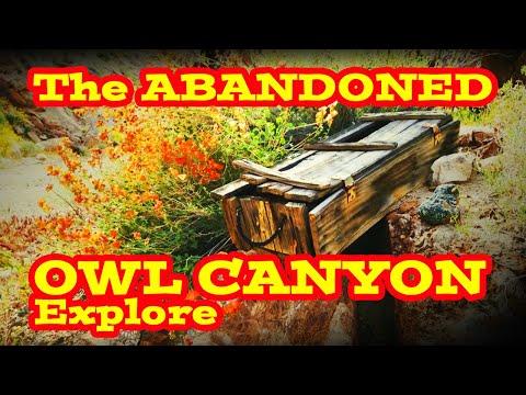 The ABANADONED OWL CANYON Explore