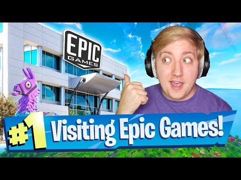 Im Going To Visit Epic Games! - Fortnite Battle Royale