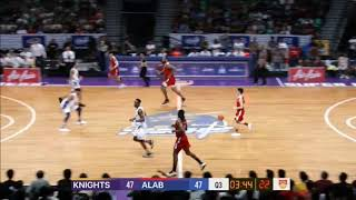 CLS Knights v San Miguel Alab | CONDENSED HIGHLIGHTS | 2018-2019 ASEAN Basketball League