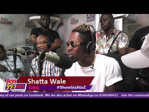 Shatta Wale on #ShowbizAtoZ on Joy FM (4-8-18)