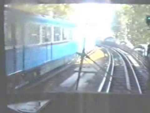 Paris metro line 5 train ride through austerlitz 1988 for Train tours paris austerlitz