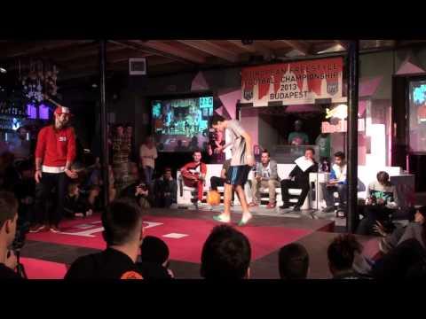 EFFC 2013 Budapest - TOP8 - Sean vs Djota